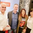 The runners-up for the night won fast-track passes and access to the lounge complements of Dublin airport.