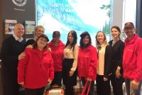 The Air Canada team in American Holidays