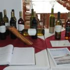 A selection of the wines produced in the Dafermou Winery, Lefkara.