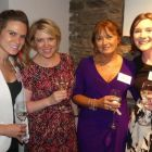 Kristy Rooney (Director of Sales Kimpton Hotels) with Elena Gogoleva (CWT), Kathy Cashe (Sunway Holidays) and Trish Luff (CWT)