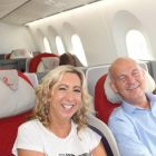Michelle Lyons (Fahy Travel) and Alan Lynch (Travel Escapes)