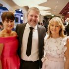Suzanne Rowe (MSC Cruises), Shane Cullen (Travelbiz.ie) and Sarah Slattery (The Travel Expert)