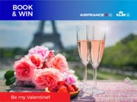 Valentines Book and Win with Air France