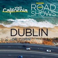 Visit California biggest Dublin Roadshow Monday 15th July