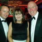 Patrick McKinney (Qatar Airways), Andrea Hurley and Alan Neenan (both Neenan Travel)