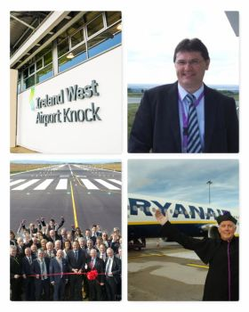 Good News for Ireland West Knock Airport as they announce new services to Edinburgh & Manchester from this September, flying twice weekly with Ryanair