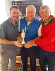 Dermot Merrigan (Irish Ferries) Clem Walshe (MD Local Marketing.ie) and Ray Scully (SHG/TUI)