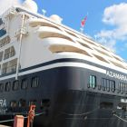 Azamara Journey docked in Dublin Port