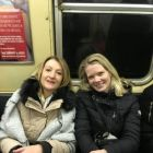 Subway time in New York with Marie and Alison (CWT)