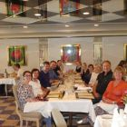 The Worldchoice Ireland group sample the amazing cuisine and entertainment in restaurant Berneval on the Oscar Wilde