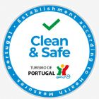 Portugal has also created a 'Clean & Safe' stamp