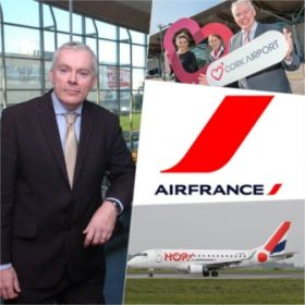 Cork Airport is delighted to welcome back Air France.