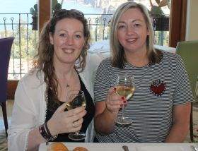 Shauna Kelly (Topflight) and Gillian Hanna (Clubworld Travel).