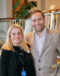 Rebecca Kelly and Tony Roberts (VP Princess Cruise UK & Europe)