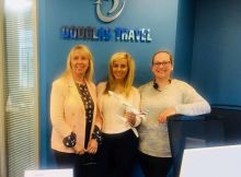 Ger Dinan, Marike Nolan and Emma Dinan (Douglas Travel Cork)