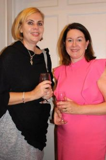 Helen Fyfe (Lufthansa) and Lorraine Kenny (Ask Susan Travel)