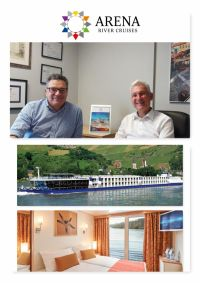 Steve Goodenough (MD Arena Travel) and Alan Sparling (ASM Ireland)