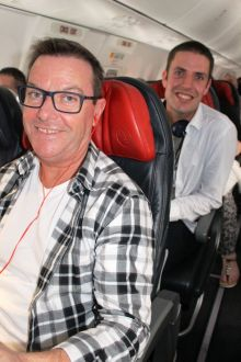 The boys are taking to the skies with G Adventures & Turkish Airlines - all aboard