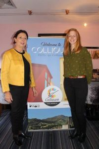 Dominique Fabre (Tourist Office Collioure) and Hannah Holmes (Agence Beable 2)