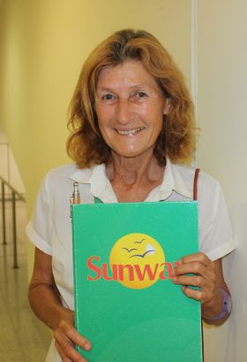 Marian from Newcastle West Co. Limerick is Sunway Holiday's rep in Menorca