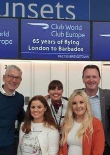 Caribtours Alan Sparling is going to Barbados with some lucky trade partners