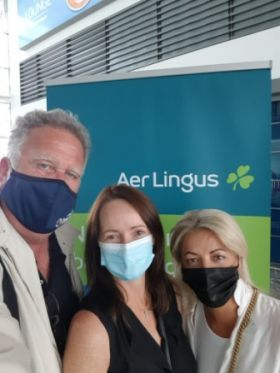 Don Shearer (Travelbiz), Jenny Rafter (Aer Lingus) and Mary Denton (Sunway Holidays) were part of the Irish trade and media delegation that joined trade partners in Andalucía.