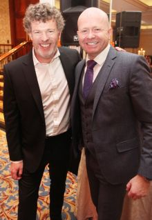 Michael Collins (TravelMedia.ie) and Ciaran Mulligan (MD Blue Insurance)