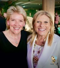 Jo Rzymowska (VP & MD EMEA, Celebrity Cruises) and Lisa Lutoff-Perlo (Celebrity Cruises CEO)