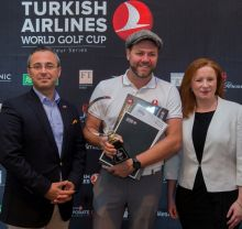 Hasan Mutlu (GM Turkish Airlines Ireland), Brian McFadden (ex Westlife) and Julienne Curran (Corporate Travel Manager Turkish Airlines)