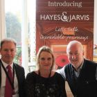 John Devereux (MD Travelopia Ireland & Scandanavia), Leslie Rollo (MD Hayes & Jarvis) and Declan Mescall (Features Editor Travelbiz)