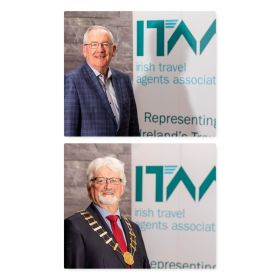 Pat Dawson (ITAA CEO) and Michael Doorley (President ITAA)