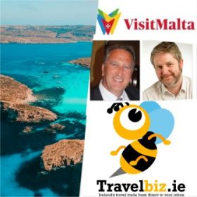 Don Shearer and Shane Cullen are back in the air today as they depart from Dublin flying direct to Malta to join the team from the Malta Tourism Authority