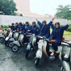 Ready for a Vespa wet and wild experience