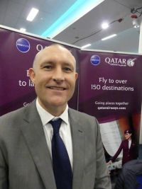 Matt Tarrant (Commercial Manager Qatar Airways)