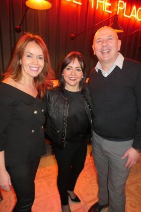 Caitriona Toner (Country Manager American Airlines) with Terry Sheehan (American Holidays) and North Star Marketing Manager.