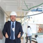 Antonio Paradiso on deck (Managing Director MSC Cruises UK & Ireland)