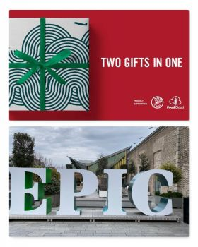 Travelbiz is happy to support the award winning EPIC Irish Emigration museum's Christmas campaign