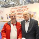 Ian Baille (Stena Line) and Tony Brazil (Limerick Travel)