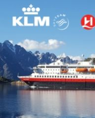 Win a place on a Hurtigruten and KLM exclusive FAM to Norway via Amsterdam.