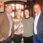 Lee Osborne (BookABed), Emer McDermott (McDermott Travel), Maura Fahy (Fahy Travel) and Pearse Keller (Keller Travel)
