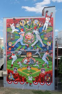 The Phillies Mural by David McShane
