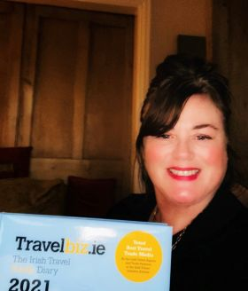 Susan Maxwell loves her all new Travelbiz Desk top Diary