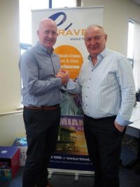 Dave Walsh and Dave O'Grady (eTravel)