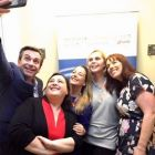 The AJV Team with Declan Power (Shannon Airport) selfie in Limerick