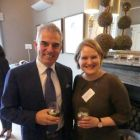 Paul McGinley, four-time winner of the Ryder Cup and the first Irish captain to lead the European team to victory, doing so in 2014, with Anne Penderson (Atout France)