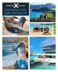 Celebrity Cruises announced its summer 2021 return to sailing the breath-taking Galapagos Islands on one of the luxury brand's three stunning ships that offer itineraries in this unique part of the world.