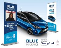 Karen wins Blue June car Promotion