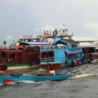 Busy jetty