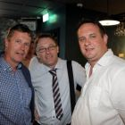 Liam O'Leary, Michael Bowe and Robbie Smart at the Amadeus shaping the Future event