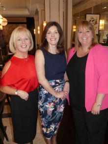 Antoinette Young (Sales Manager Falcon Thomson Holidays), Charlotte Brenner (Marketing Manager Falcon Thomson Ireland) and Belinda Vasquez (Head of Falcon Thomson Ireland)